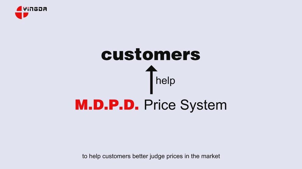 M.D.P.D. Price System