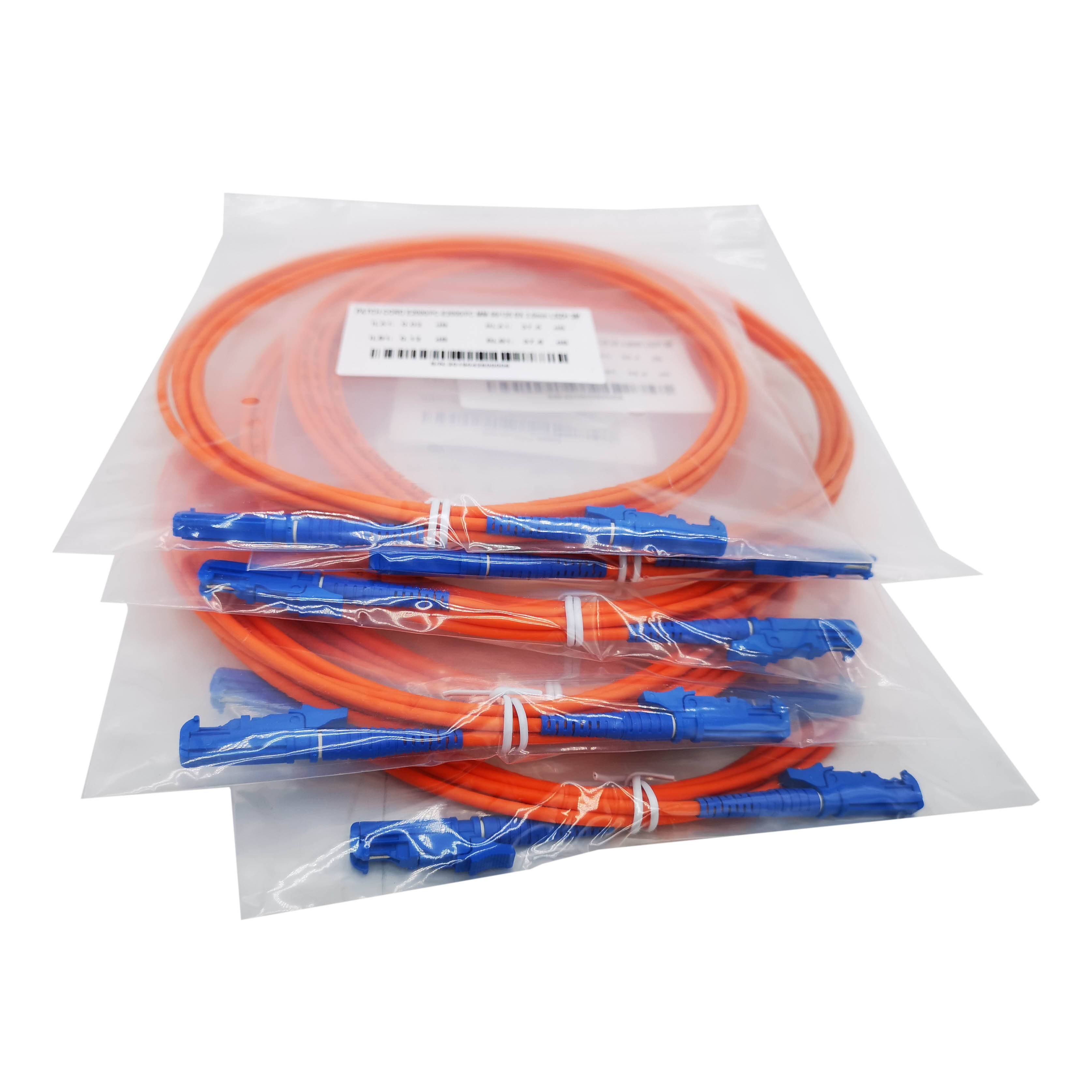 E2000 / APC UPC Fiber Optic Patch Cable 3 Meters / Fiber Optic Jumpers R&M,HUBER + SUHNER
