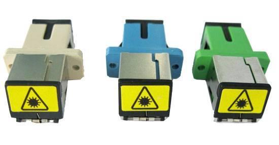 SHUTTER adapter SC&LC connector