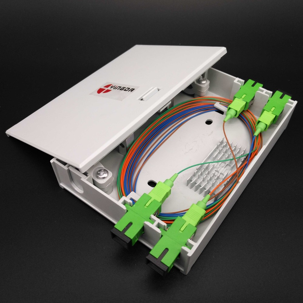 FTB104F 4 port FTTH indoor wall mount fiber terminal box