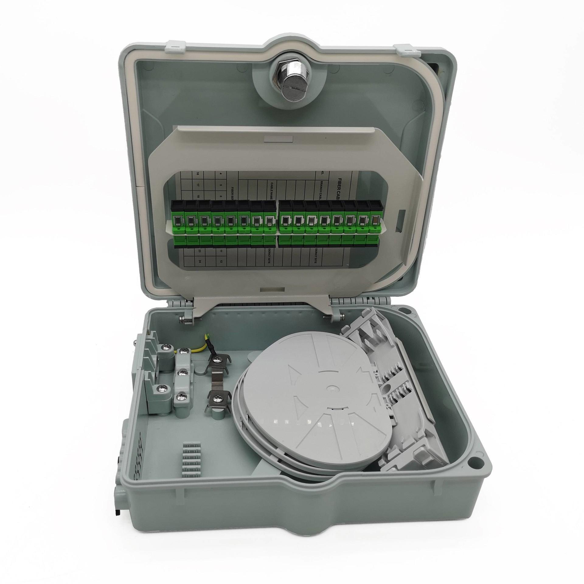 12 ports 48 core fiber optic distribution box fdb box