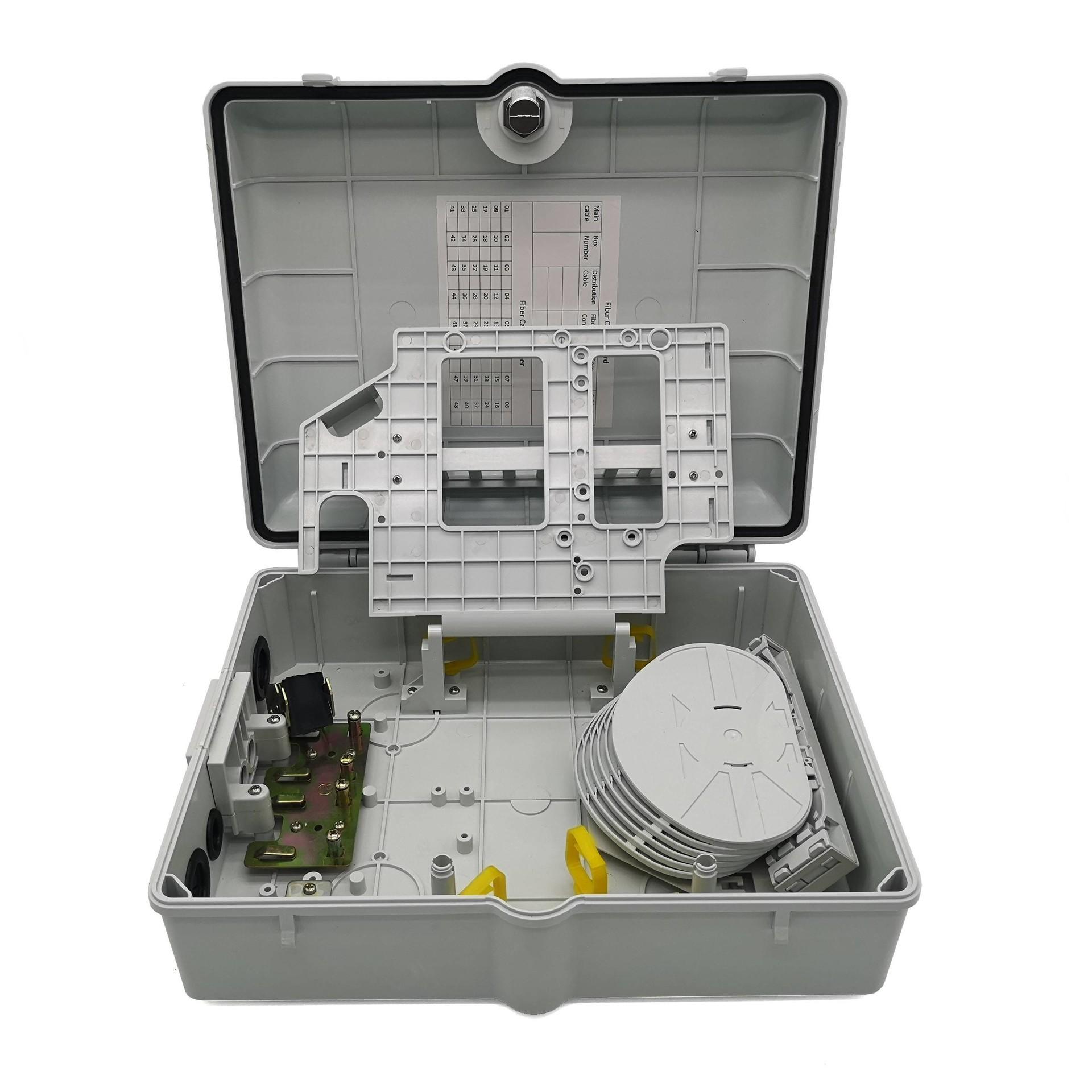 OTB-48D fiber optic distribution box 48 cores