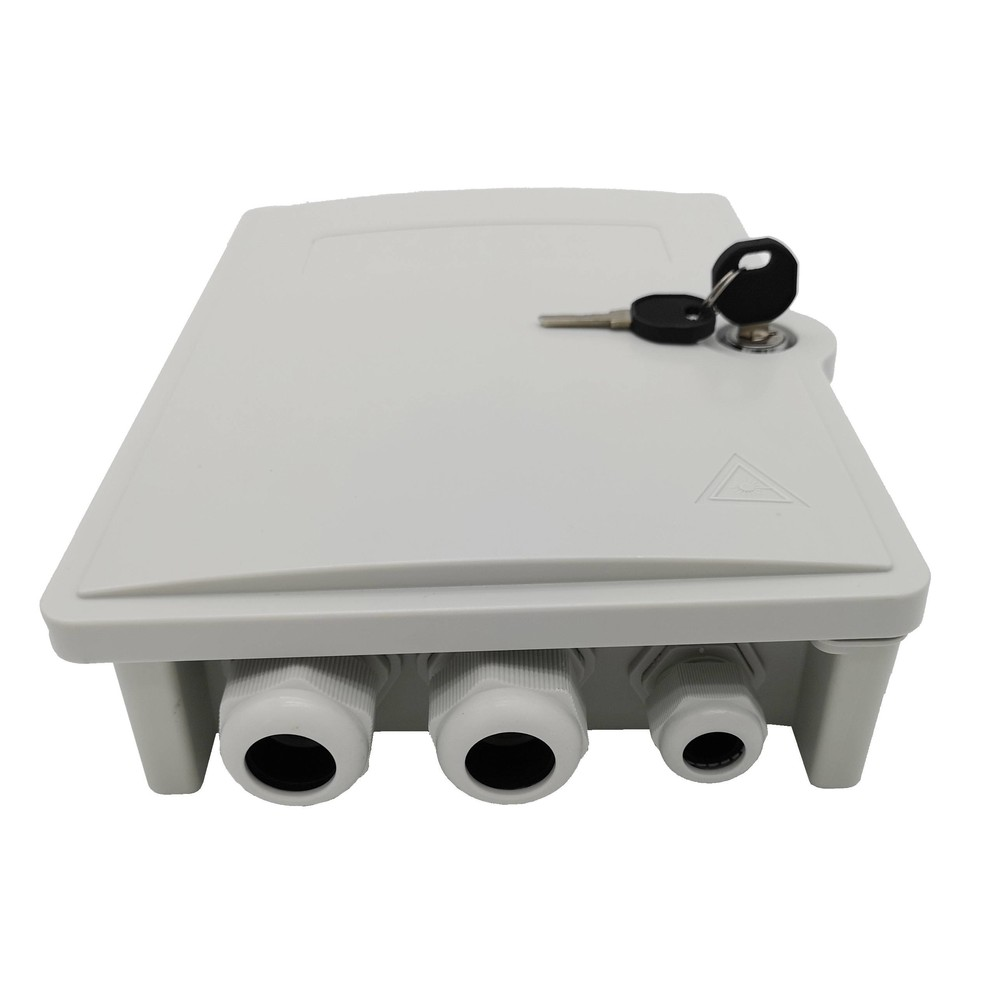New 24 lc apc  pigtails terminal box outdoor IP65 use