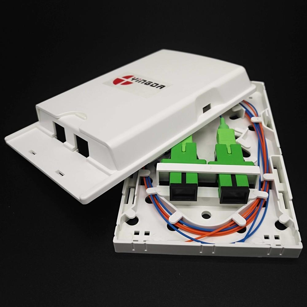 FTB102H 2 ports fiber optic terminal box