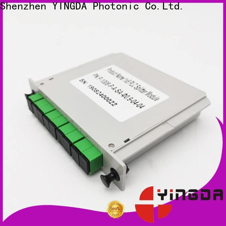 YINGDA Latest splitter fiber optik for business For network equipment