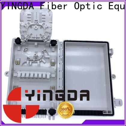 New fiber splitter box for the use of optical fiber terminal points