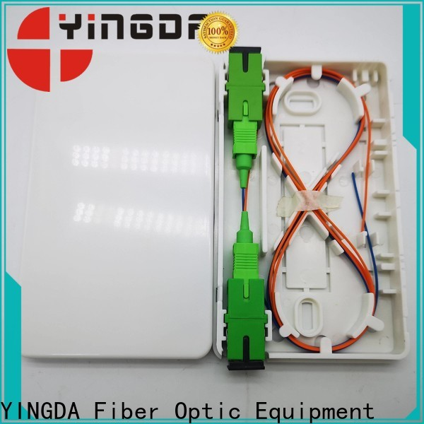 YINGDA Latest lc fiber wall plate factory For connection