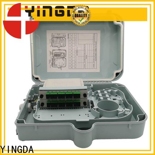 Latest fdb fiber distribution box factory For connection