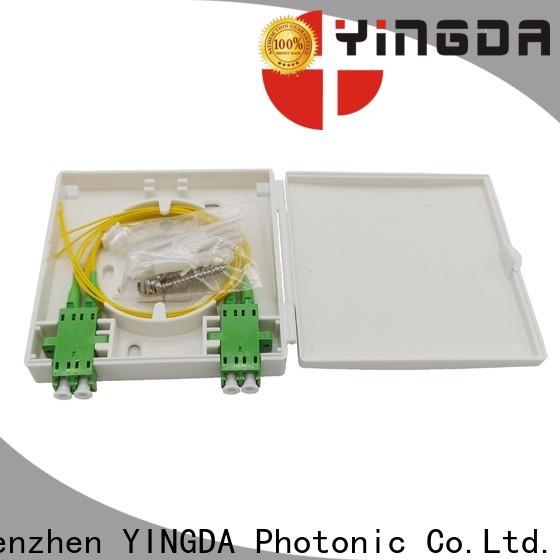 YINGDA Best optical termination box factory on wall or desktop
