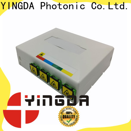 YINGDA Best fiber optic wall plate factory For network equipment