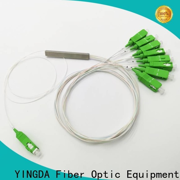 YINGDA Latest splitter fiber optik company for realize the splitting and combining of light wave energy
