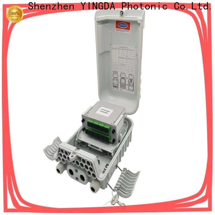 YINGDA Top ftth splitter box factory for optical access network
