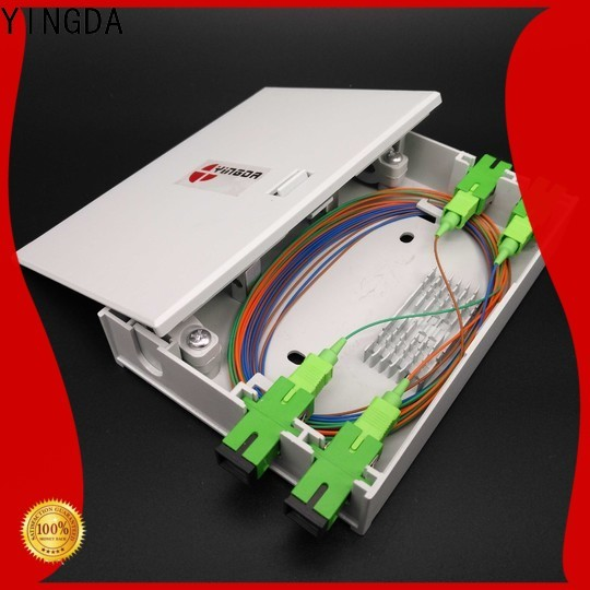 YINGDA indoor fiber termination box company For network