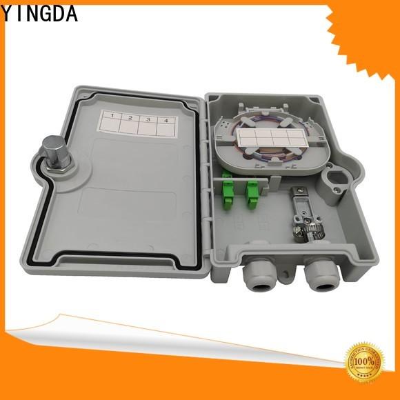 YINGDA optical splitter box factory For network