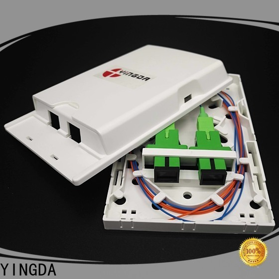 Wholesale fiber optic wall outlet Supply for indoor use