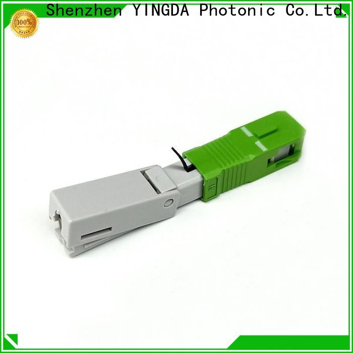 YINGDA fiber optic connector price factory For connection