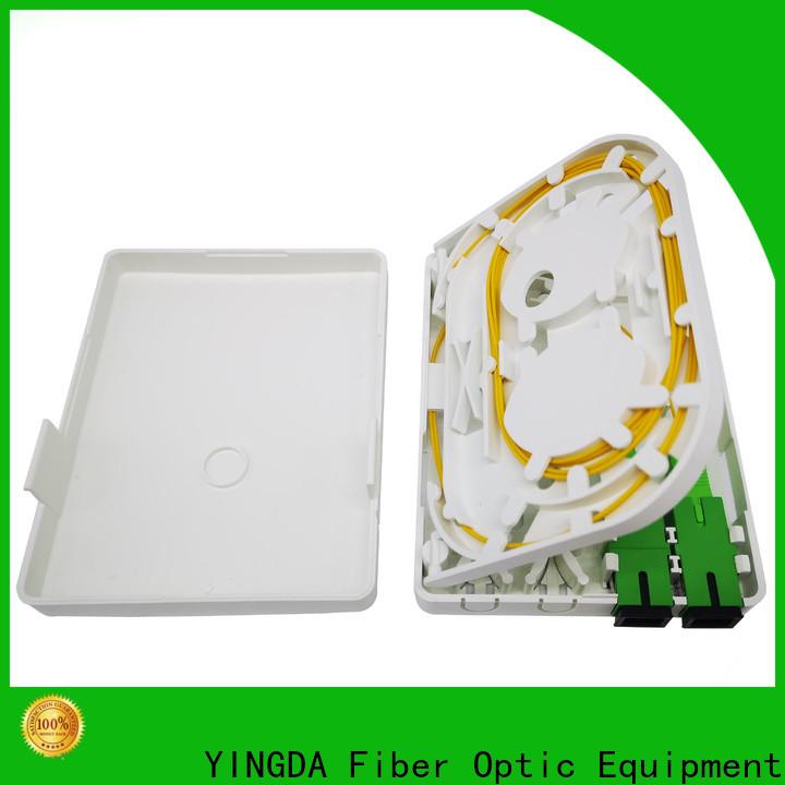 YINGDA fiber optic termination box Suppliers For network equipment