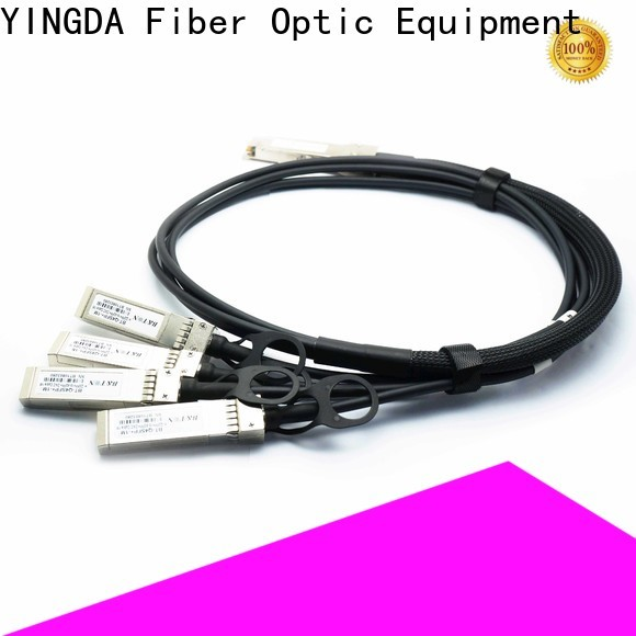 YINGDA Custom active optical cable (aoc) for High density connections between networking equipment