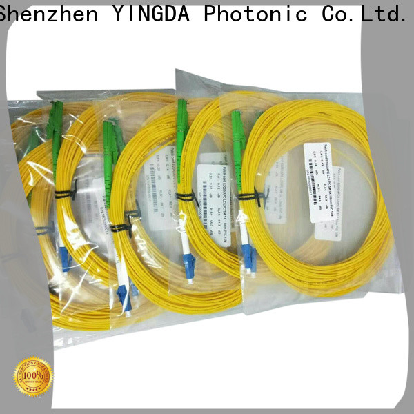 YINGDA fiber optic patch cord price For network