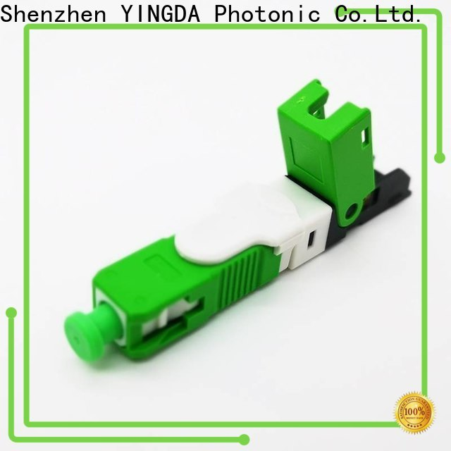 YINGDA fiber optic connector suppliers Supply for quickly assembly connect