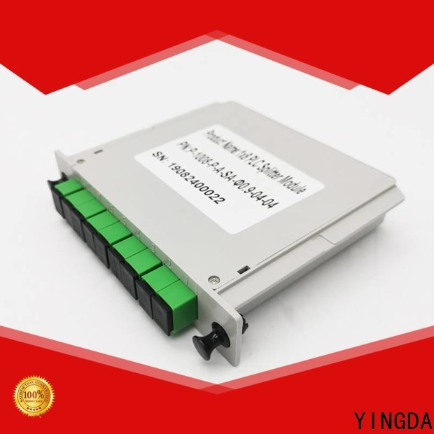 YINGDA Wholesale fiber plc splitter Supply For connection