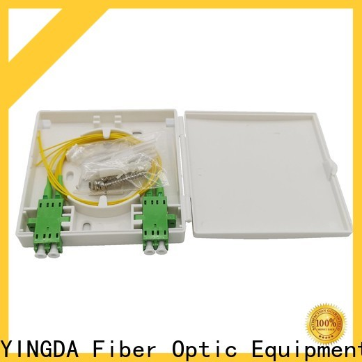 YINGDA fiber faceplate on wall or desktop