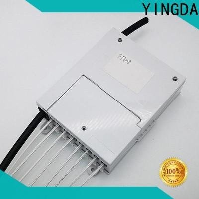 Top outdoor fiber termination box on wall or desktop