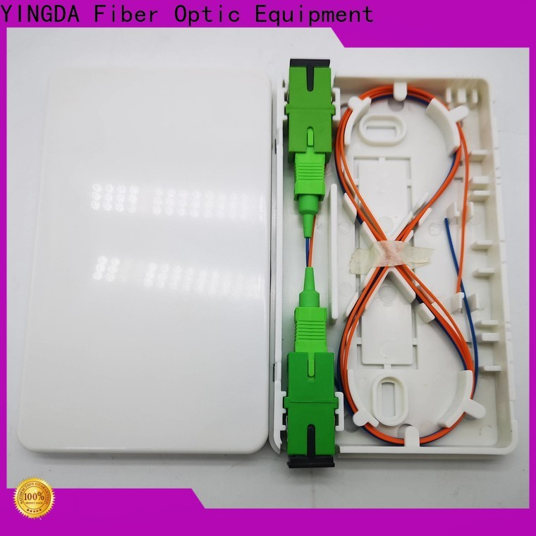Top lc fiber wall plate For network