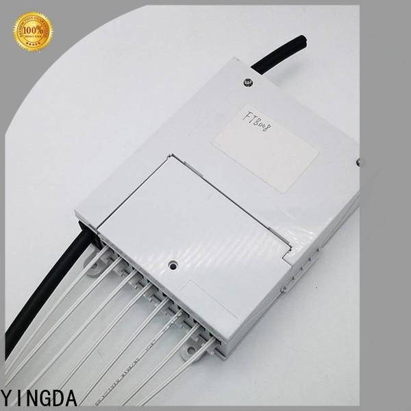YINGDA fiber optic termination box rack mount factory For fiber optic systems
