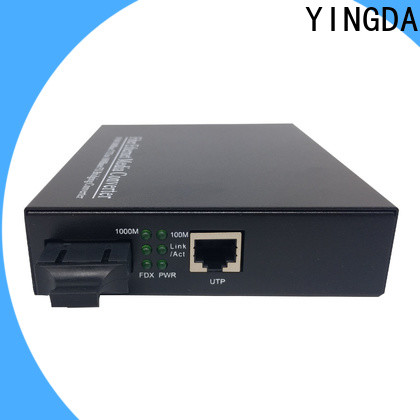 YINGDA Latest fiber optic media converter Suppliers For connection