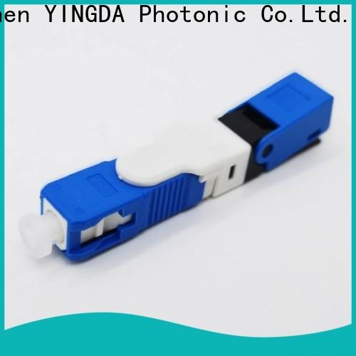 Custom fast fiber connector kit company For network equipment