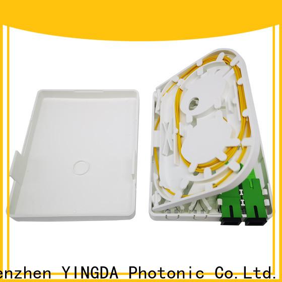 YINGDA fiber optic termination box suppliers Supply on wall or desktop