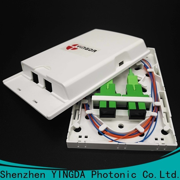 YINGDA Best outdoor fiber termination box manufacturers For network equipment