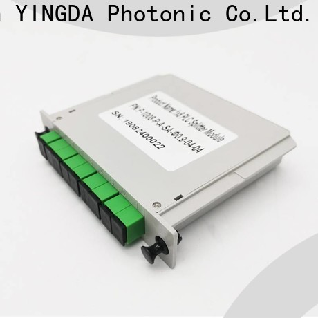 YINGDA multimode fiber optic splitter manufacturers For network