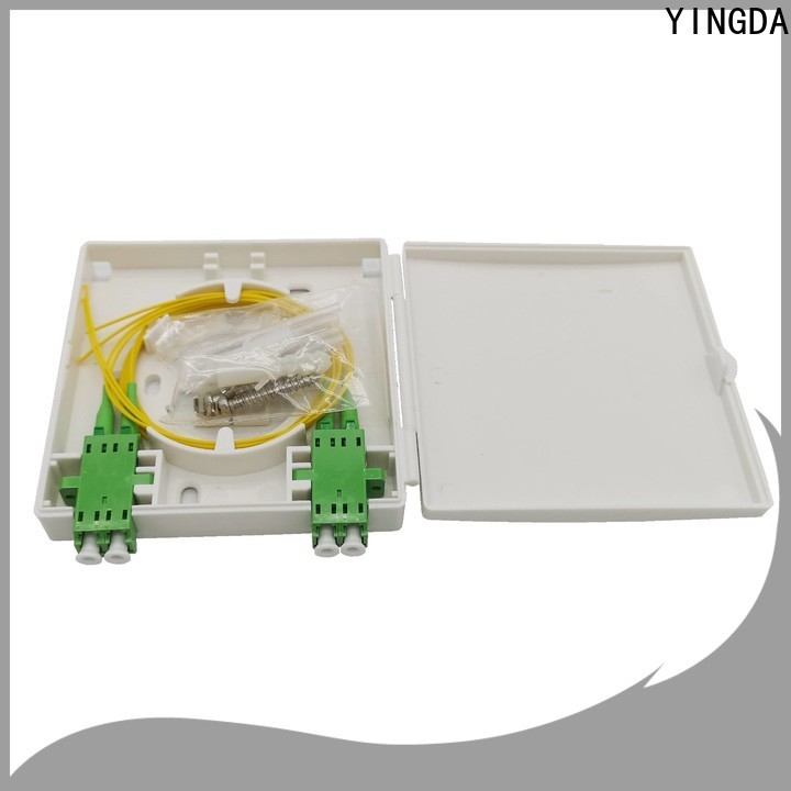 YINGDA Top home fiber termination box factory For fiber optic systems