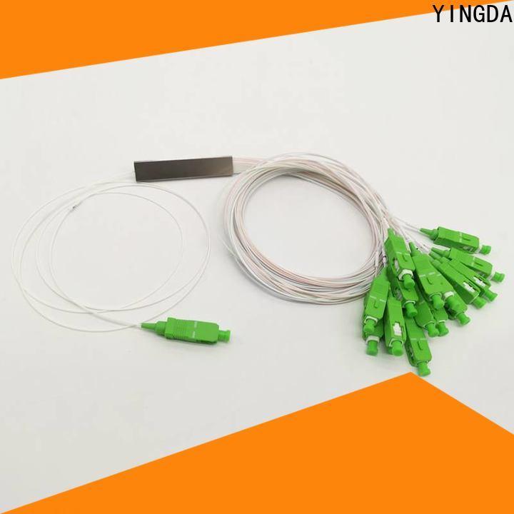 YINGDA Best fiber plc splitter factory For network equipment
