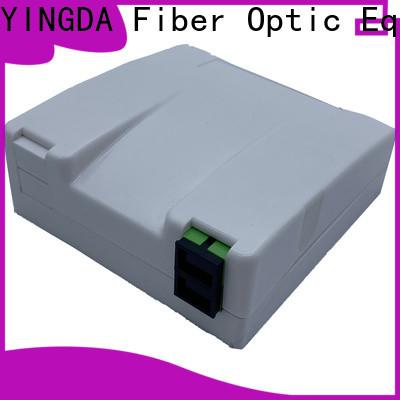 YINGDA fiber termination box wall mount company For network equipment