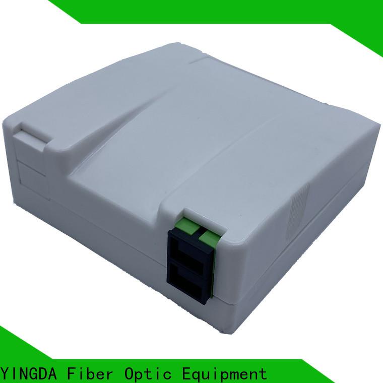 Top fiber optic termination box price on wall or desktop