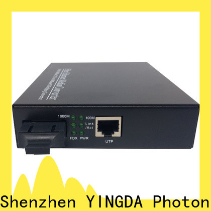 Top copper to fiber converter company for the high-definition video image transmission of monitoring security engineering