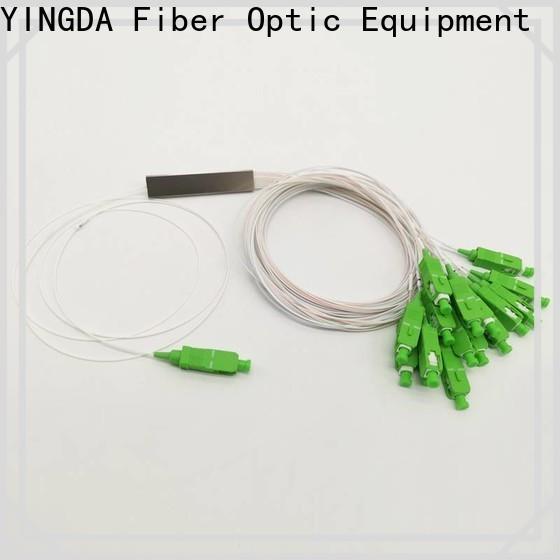 YINGDA fiber optic splitter Suppliers For network