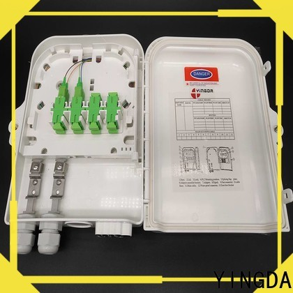 YINGDA fiber optic box company for the use of optical fiber terminal points