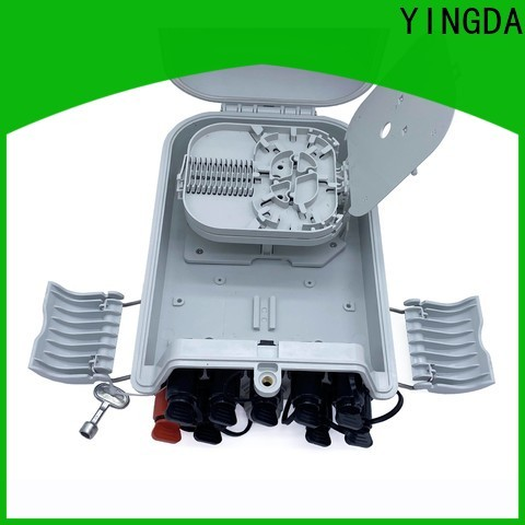 YINGDA Best outdoor fiber optic distribution box Suppliers for the wiring connection